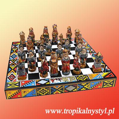 szachy peruwiańskie indianie vs hiszpanie