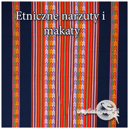 Narzuty I Makaty Galeria Tropikalnystyl Etniczna Biżuteria